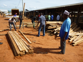 Kigoma timber yard